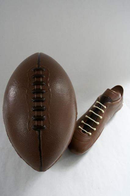 Rugby Boot and Ball