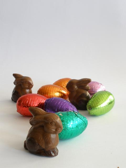 Filled Bunnies and Easter Eggs