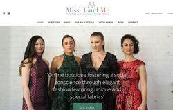 Miss H & Me WooCommerce Store